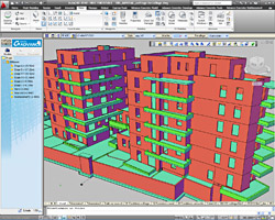 Advance Concrete: structural modeling