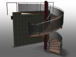 Advance Steel Stairs