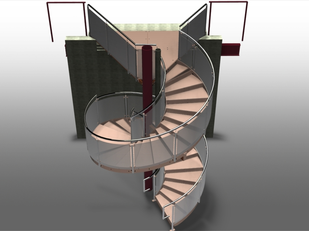 Stairs in Advance Steel (2/6)
