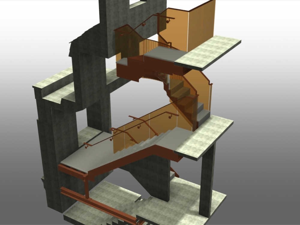 Stairs in Advance Steel (3/6)