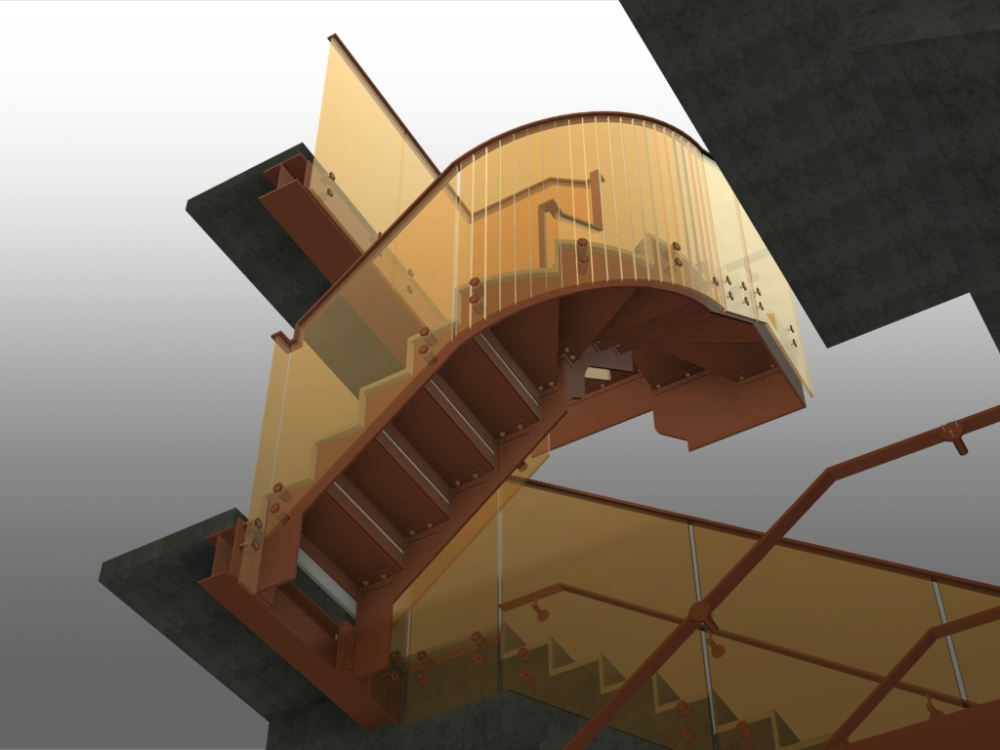 Stairs in Advance Steel (4/6)