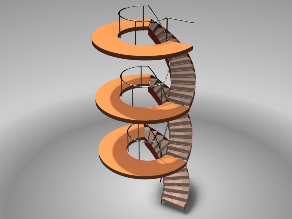 Stairs in Advance Steel (5/6)