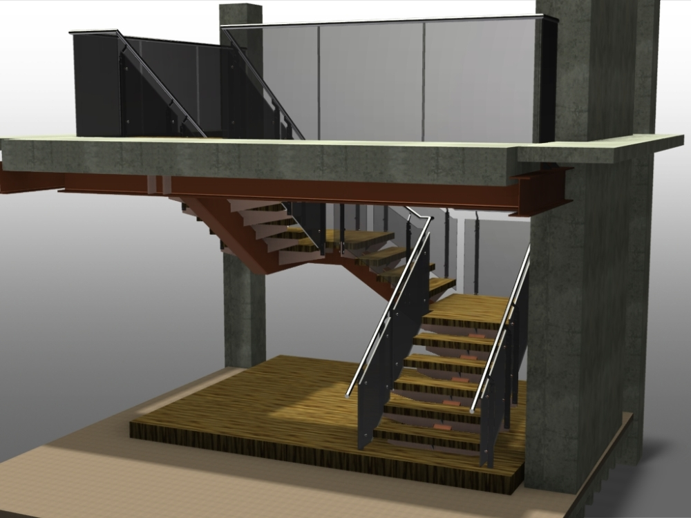 Stairs in Advance Steel (6/6)