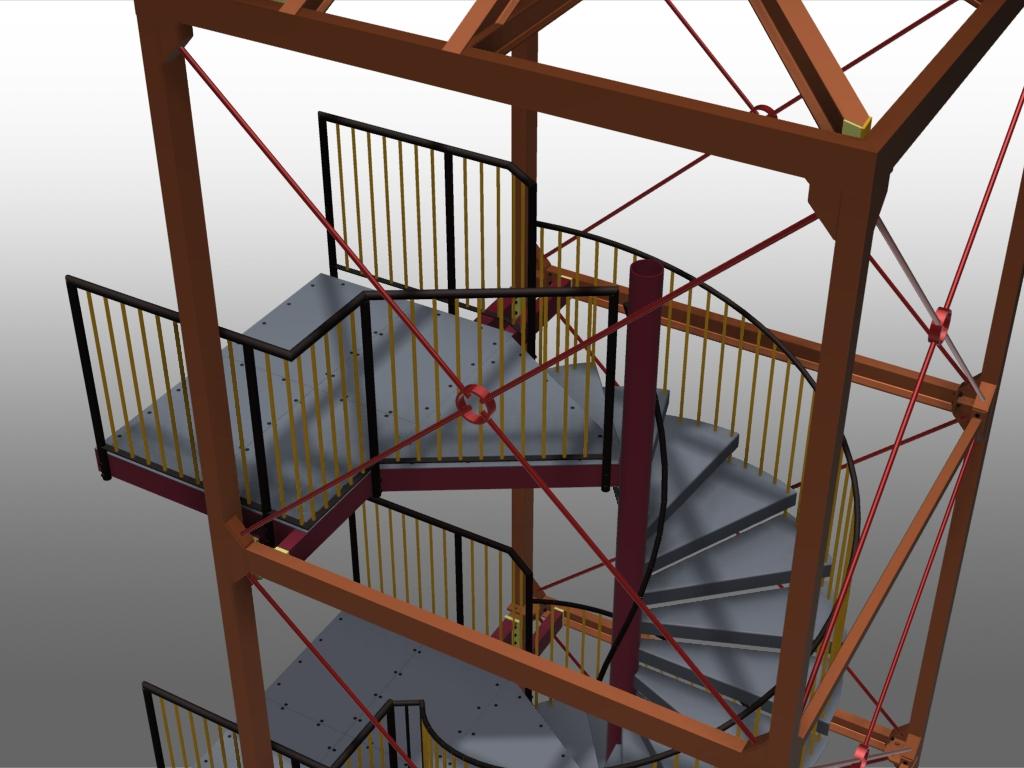 advance steel treppen und gel nder software f r bauingenieure und konstrukteure. Black Bedroom Furniture Sets. Home Design Ideas