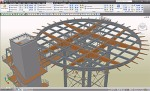 Advance Steel Project: Ziemann - Helicopter Base