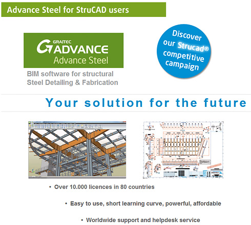 Advance Steel for StruCAD users