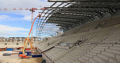 Jean BOUIN Rugby Stadium, done with ADVANCE Design