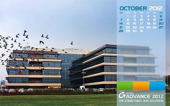 Download GRAITEC wallpaper for October