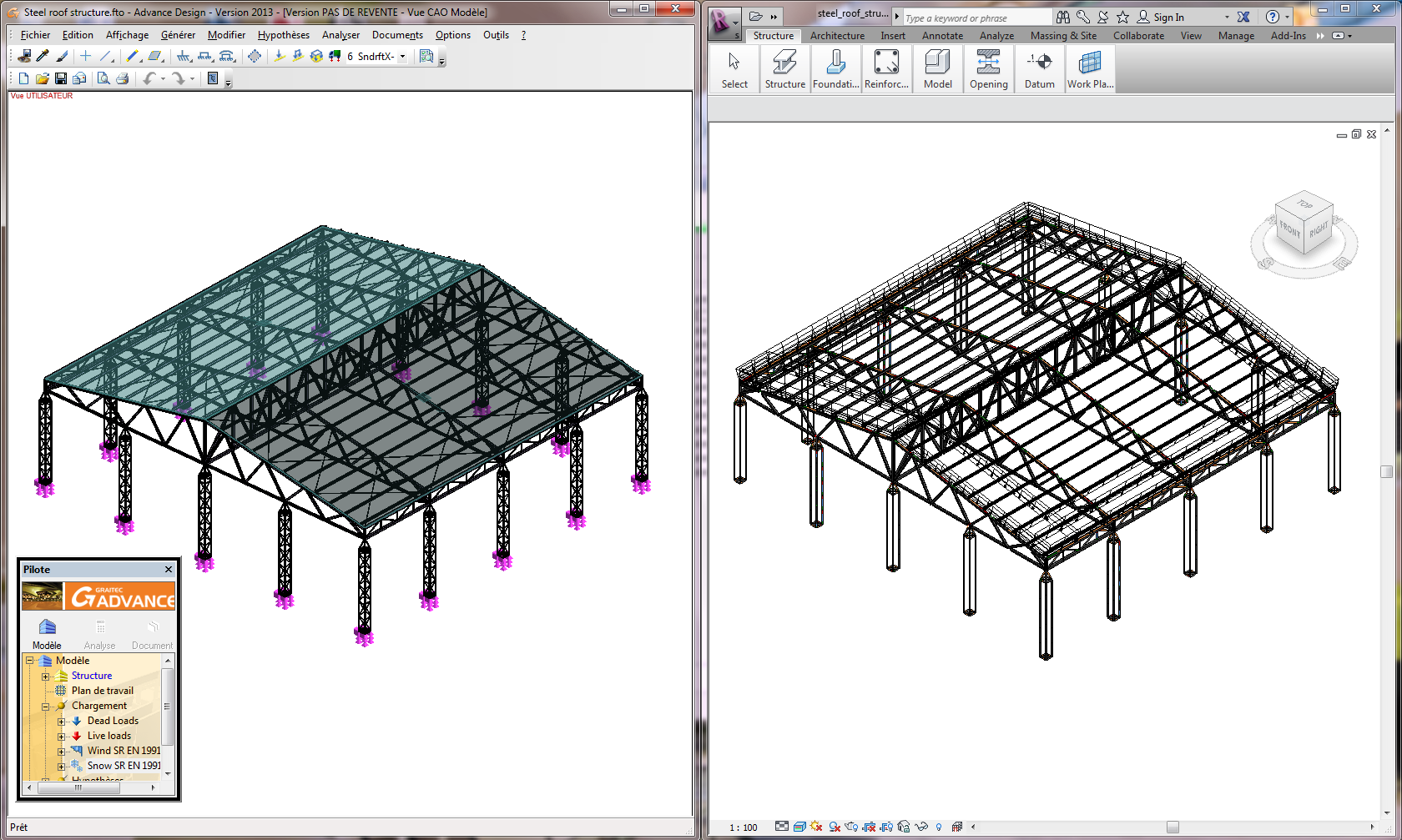 10 Ad Revit Steel Roof Civil Engineering Software Solutions