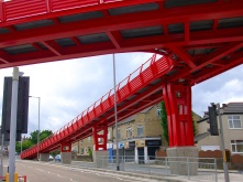 Advance Steel project: Manchester Road Bridge