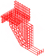 Reinforcement and formwork for complex shapes in Advance Concrete (6/6)