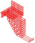 Reinforcement and formwork for complex shapes in Advance Concrete