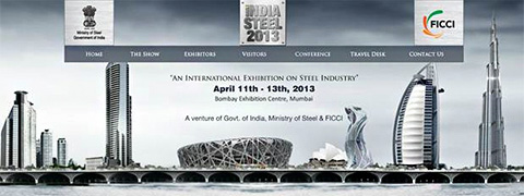 GRAITEC exhibited at INDIA STEEL 2013
