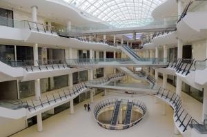 Bridge and Skylight in BULGARIA Mall