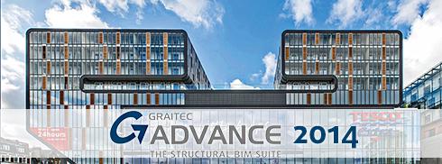 GRAITEC announces the release of the new BIM Structural version: GRAITEC Advance 2014 (1/6)