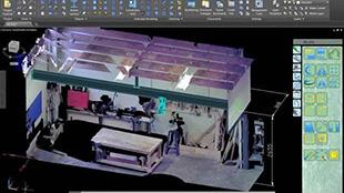 Advance Steel 2015 - Laser Point Cloud Demo