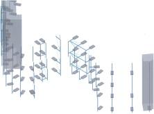 Autodesk Advance Steel Project: Skyline Plaza FFM