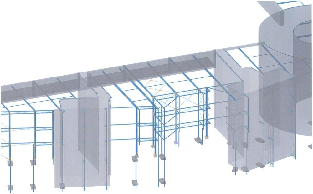 Autodesk Advance Steel Project: Skyline Plaza FFM (2/6)