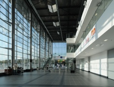 "Advance Steel Project: Exhibition hall ""P"" in Brno Exhibition Center"