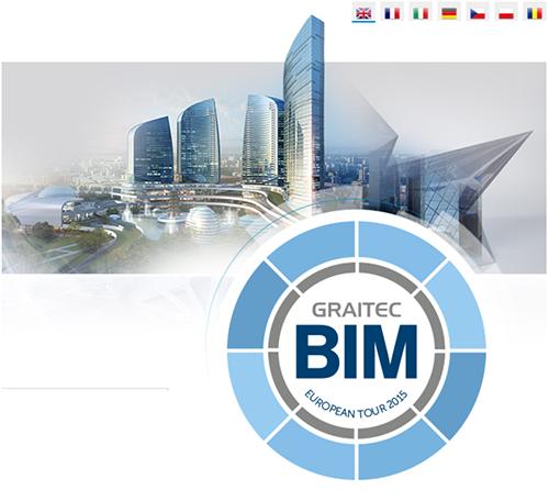 GRAITEC announces European BIM Tour 2015 across 18 cities in 8 countries