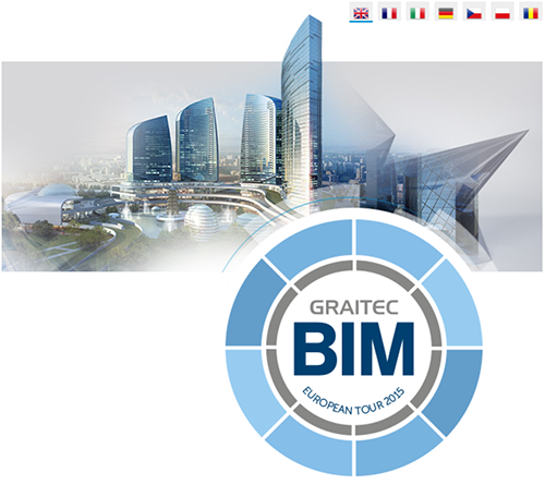 GRAITEC announces European BIM Tour 2015 across 18 cities in 8 countries