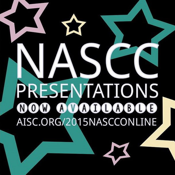 NASCC Presentation available now