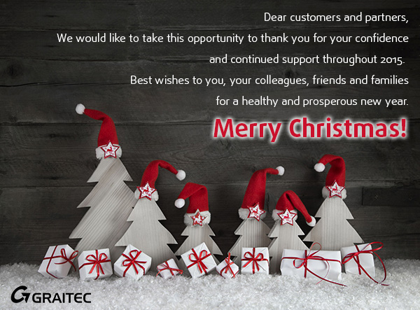 Happy Holidays from GRAITEC Team!