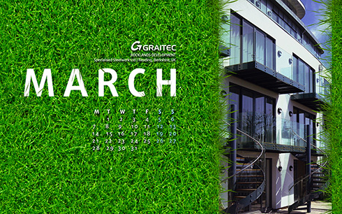 Download GRAITEC wallpaper for March 2016