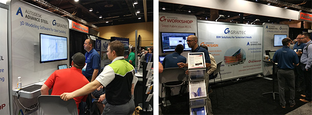 GRAITEC delivered new tools and solutions for BIM and steel fabrication during NASCC 2016