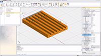 Advance Design New cross library for Precast Concrete Bridge Beams (watch the video)