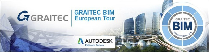 GRAITEC Announces Return of BIM Tour 2016 – Connected BIM