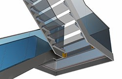 Discover how Advance Steel boosts productivity and shortens project life cycles when detailing stairs & railings on our free webinar!
