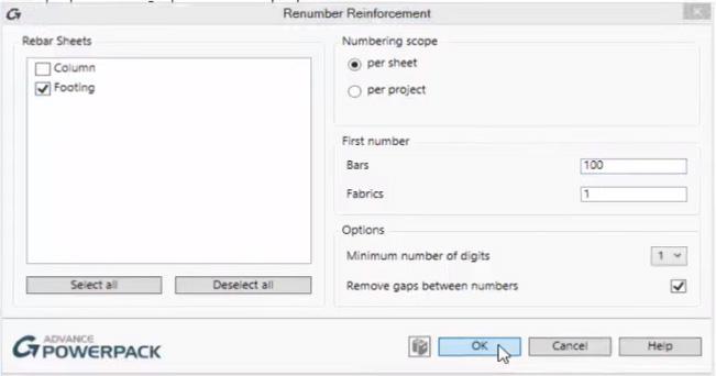 renumber-reinforcement